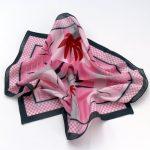 Apaszka gawroszka Esprit różowa (1)