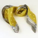 Apaszka gawroszka szlaczki żółta (1)