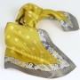 Apaszka gawroszka szlaczki żółta (2)