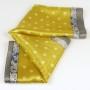 Apaszka gawroszka szlaczki żółta (3)
