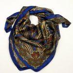 Apaszka paisley ciemno-niebieska (3)
