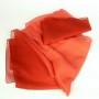 Apaszka z szyfonu czerwona ombre (3)