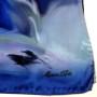 Cieniowany szalik jedwabny niebieski (4)