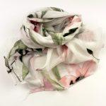 Cienki szalik lilie (1)