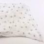 Cienki szalik sowy biały (2)