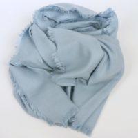 Ciepły, jesienno-zimowy szal damski z kaszmirem i bawełną