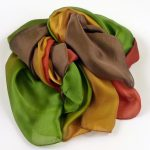 Duży szal pareo mocne kolory (1)