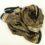 Jedwabny szalik w kratkę, cienki, elegancki, damski, wielosezonowy.