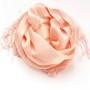 Szal do sukienki pudrowy róż (2)