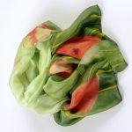Szalik cienki maki zielony