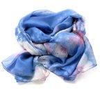 Zwiewny szal w pięknych kolorach (44)